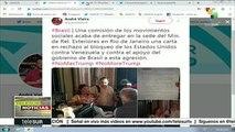 España: Residentes de Islas Canarias se suman a campaña No Más Trump