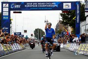 #EuroRoad19 - Elia Viviani  wins the 2019 European Championship