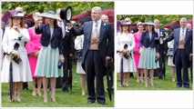 The York Family!!! Prince Andrew, Sarah, Beatrice and Eugenie