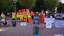 Washington, D.C.: Activist group calls for impeachment amid candle light vigil for El Paso