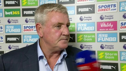 we gifted arsenal their goal steve bruce post match newcastle 0 1 arsenal