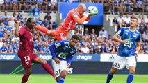 Match nul (1-1) entre le Racing Club de Strasbourg et le FC Metz