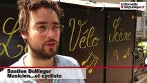 VIDEO. Des cyclistes-troubadours sur le tracé de la Loire à vélo en Loir-et-Cher