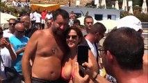 Italiens Regierungskrise: Salvini ist schon in Wahlkampfstimmung