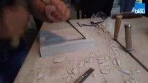 Les apprentis sculpteurs à Crazannes