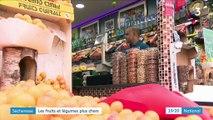 Sécheresse : les fruits et légumes sont devenus plus chers