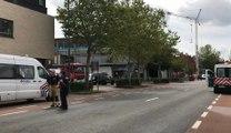 Deux pompiers perdent la vie en intervenant sur un important incendie à Beringen