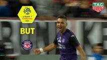 But Efthymios KOULOURIS (89ème) / Stade Brestois 29 - Toulouse FC - (1-1) - (BREST-TFC) / 2019-20