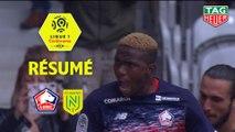 LOSC - FC Nantes (2-1)  - Résumé - (LOSC-FCN) / 2019-20