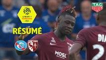 RC Strasbourg Alsace - FC Metz (1-1)  - Résumé - (RCSA-FCM) / 2019-20