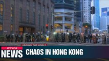 Hong Kong protesters clash with police in guerilla-style rallies