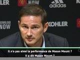 Chelsea - Lampard répond aux critiques de Mourinho