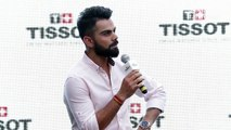 Rapid Fire Round With Virat Kohli  Funny Interview  Tissot Watch New Store Launch