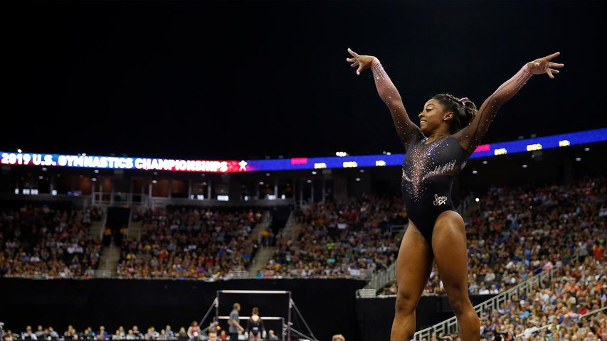 Is Simone Biles the Most Dominant Athlete in Sports History?