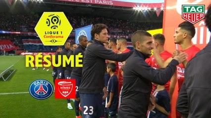 Paris Saint-Germain - Nîmes Olympique (3-0)  - Résumé - (PARIS-NIMES) / 2019-20