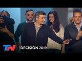 El discurso de Máximo Kirchner y el abrazo con Sergio Massa
