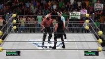 WCW2K19 Starrcade 97 Match 8 WCW World Heavyweight Championship Hollywood Hogan (c) vs Sting