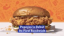 Popeyes Is In The Sandwich Biz