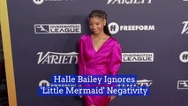Halle Bailey Isn't Phased By 'Little Mermaid' Comments
