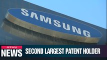 Samsung Electronics has been world's No. 2 owner of patents for 12 years: Report