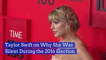 Taylor Swift Was Silent In The Last American Election