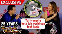 Salman Khan Madhuri Dixit Remember TUFFY From Hum Aapke Hain Koun | 25 Years Screening