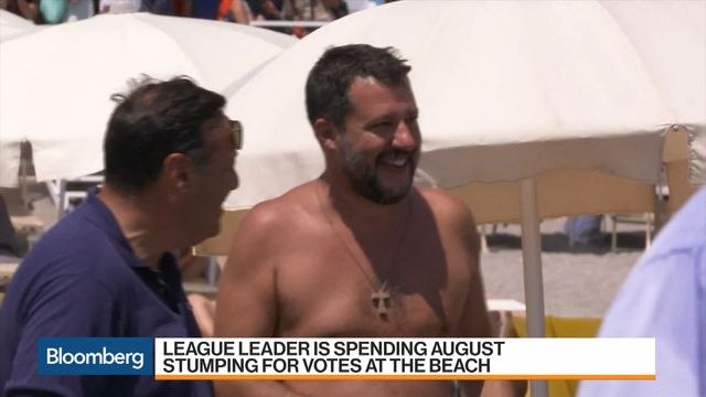 Salvini Bids for Power While Italy's on Vacation