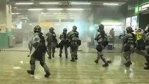 Hong Kong : Jeu du chat et de la souris entre manifestants et police, jusque dans le métro