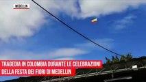 Colombie: Deux militaires morts après que la corde qui les reliait à leur hélicoptère a cédé lors d'un spectacle aérien - VIDEO
