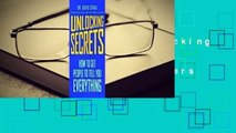 About For Books  Unlocking Secrets: How to Get People to Tell You Everything  Best Sellers Rank : #5