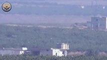 شاهد-- تدمير دبابة ثانية لعصابات الأسد على جبهة سكيك بريف إدلب بعد استهدافها بصاروخ مضاد للدروع.