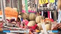 Les prix des fruits et des légumes flambent cet été sur les étals des marchés - Une hausse de 6,7 % selon l'INSEE - VIDEO