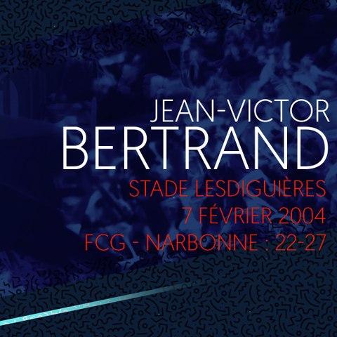 Video : Video - L'essai de Jean-Victor Bertrand contre Narbonne en 2004