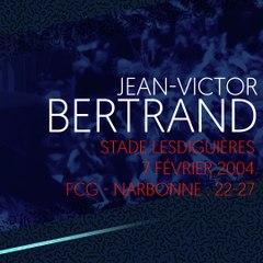 L'essai de Jean-Victor Bertrand contre Narbonne en 2004