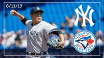 New York Yankees @ Toronto Blue Jays _ Game Highlights _ 8_11_19