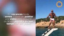 Un multmillionnaire donne des fessées à ses copines en string sur son yacht !