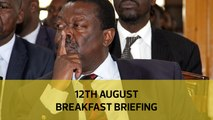 Mudavadi 2022 strategy| Sossion on teachers' strike| Kenya's fake honey: Your Breakfast Briefing
