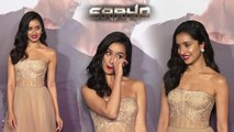 Prabhas, Shraddha Kapoor, Sujeeth & Others At Trailer Launch Of 'Saaho'