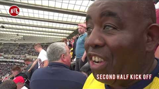 Newcastle 0-1 Arsenal Match Day Vlog | WET, WET, WIN!!!