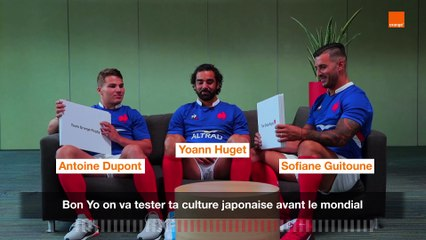 How Japanese Are You - Dupont-Guitoune-Huget - Team Orange Rugby