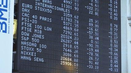 El Ibex 35 se desinfla tras una apertura positiva y se deja un 0,28 %