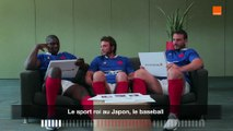 How Japanese Are You - Camara-Médard-Picamoles - Team Orange Rugby