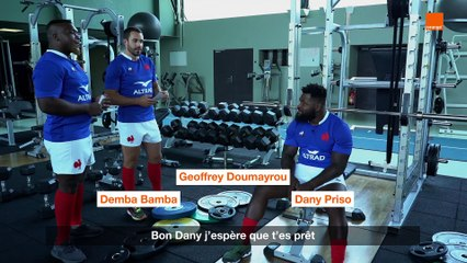 Sous la pression - Bamba-Doumayrou-Priso - Team Orange Rugby