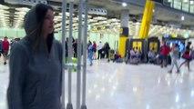 Laura Matamoros regresa a España para recoger a su padre