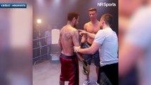Neymar et CR7 s'affrontent sur un ring de boxe pour une pub