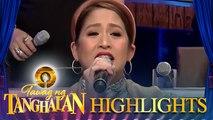 Jolina Magdangal sings her message to TNT contenders | Tawag ng Tanghalan
