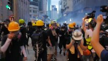 'No chance of retreating': Hong Kong protesters return to streets