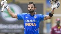 India vs West Indies, 2nd ODI : Virat Kohli Breaks Javed Miandad's 26-Year-Old Record || Oneindia
