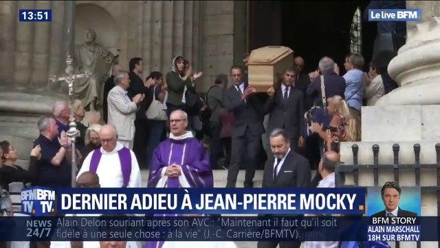 Les obsèques de Jean-Pierre Mocky ont eu lieu ce matin à Paris