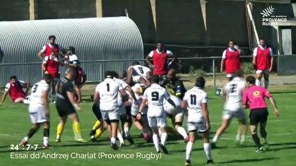 Provence Rugby / Carcassonne : les résumé